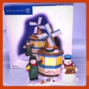 Department 56 Windmill Wishing Well Snow Village